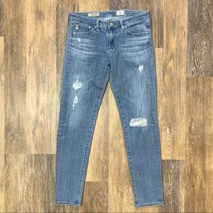 AG The Stevie Ankle Jeans